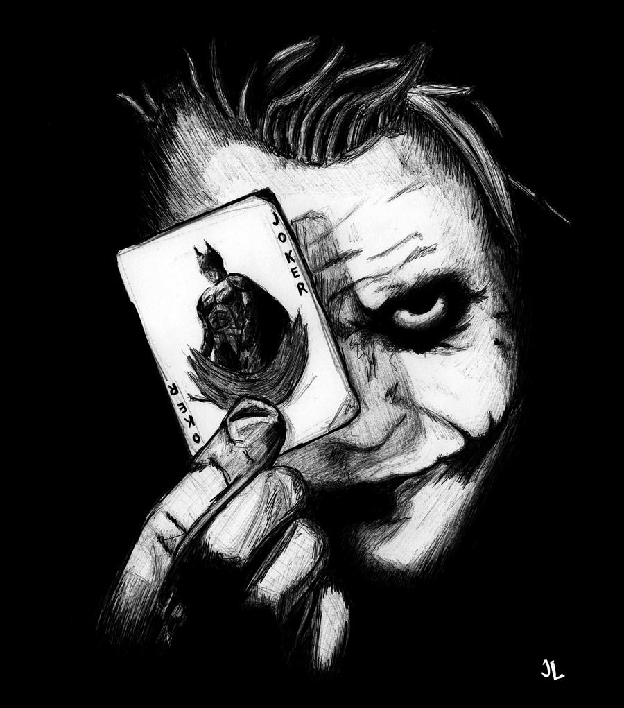 drawn joker wallpapers and - photo #10