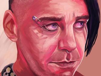 Till Lindemann by VictoriaInArts