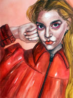 Anya Taylor-Joy by VictoriaInArts