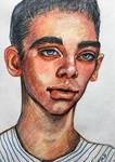 sketch portrait2 by VictoriaInArts