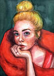 Elle Fanning by VictoriaInArts