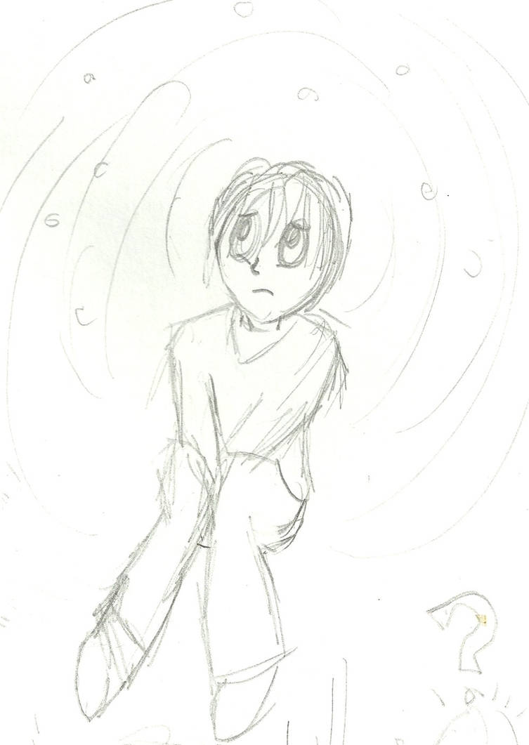 Sad boy sketch by lindor42