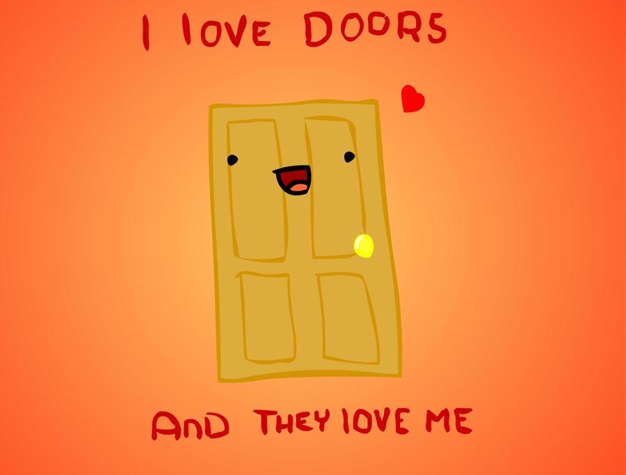I love doors by Jeusava ... & I love doors by Jeusava on DeviantArt
