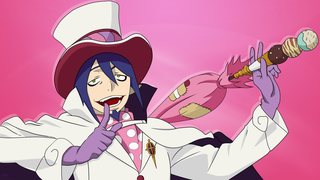 blue exorcist mephisto pheles by skajcere on deviantart