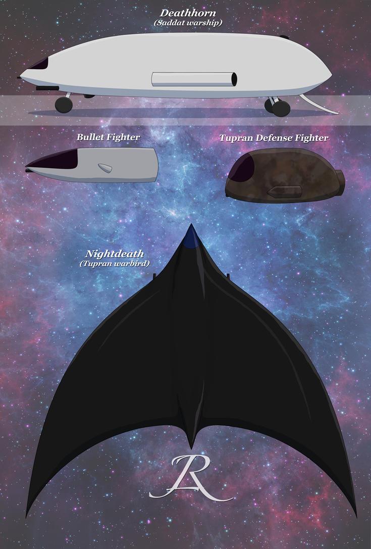 Spaceships by Rebel-Rider