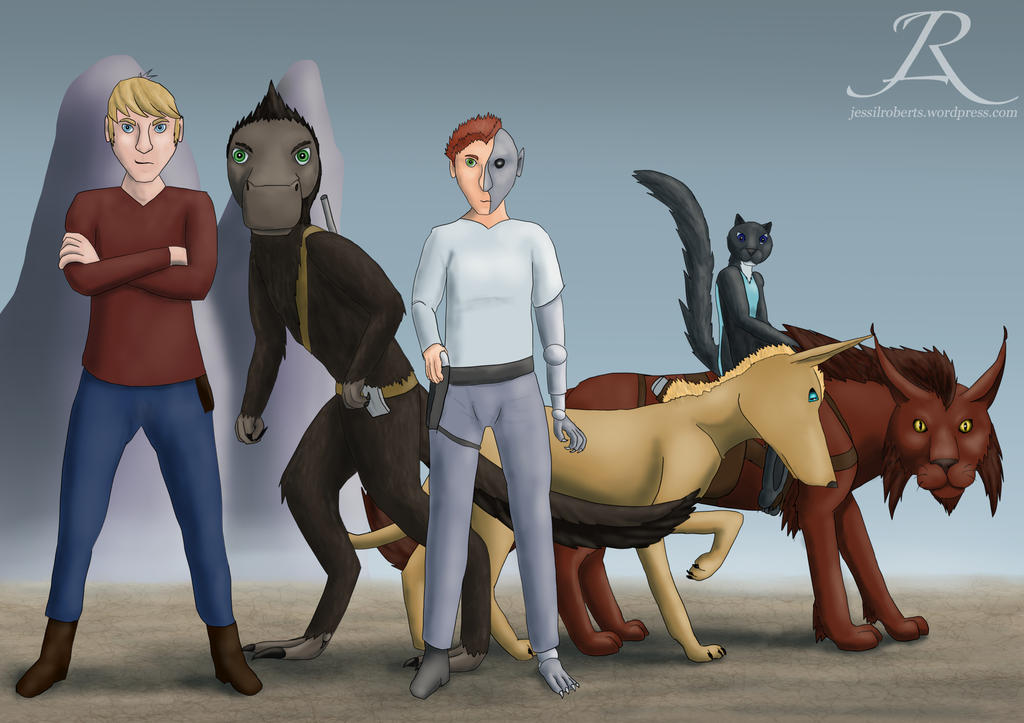 The Black Claw Team by Rebel-Rider