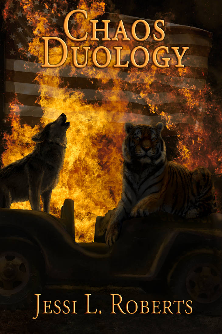 Chaos Duology Cover by Rebel-Rider
