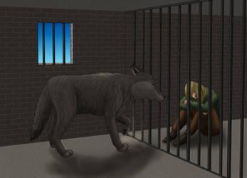 Fern Imprisoned by Rebel-Rider