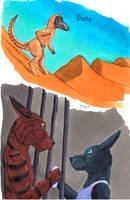Inktober Dune and Hope