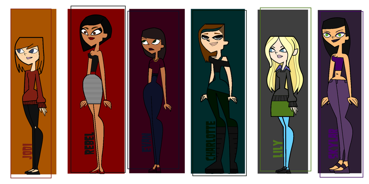 naked girls from total drama tour