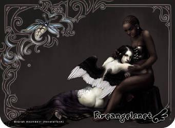 Nahe - Black and White by Wespenfresser