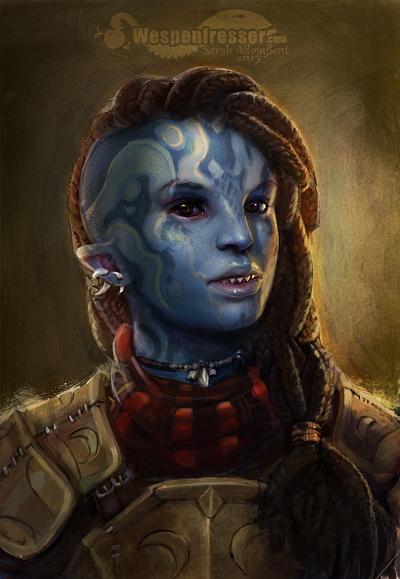 Fanart |Custom Portrait Aumaua by Wespenfresser