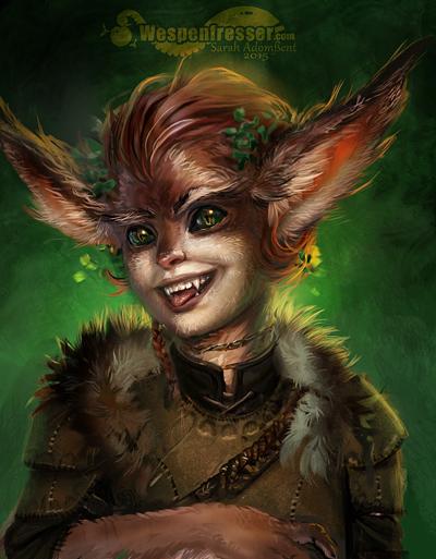 Fanart |Custom Portrait Wild Orlan by Wespenfresser