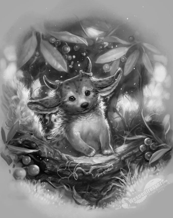 Tiny paw by Wespenfresser