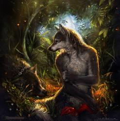 Good old wolfies.psb by Wespenfresser