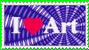 Stamp I Love ART 00401