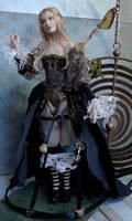 Steampunk Fairy Doll by elvenelysium