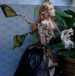 Steampunk Fairy Doll close up