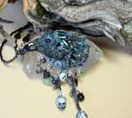 Morrigan Crow Necklace by elvenelysium