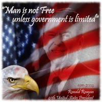 Ronald Reagan by imfeelngood
