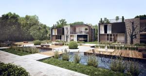 3d architecture visualization