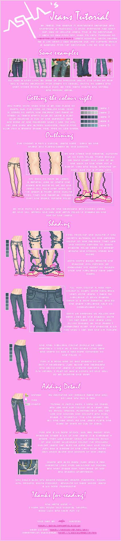 Asha's Jeans Tutorial by Icecradle