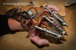 Steampunk vambrace - Armschiene