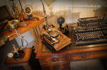 Steampunk workstation PC, Display, Mouse...