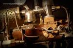 steampunk gun - ghost blaster
