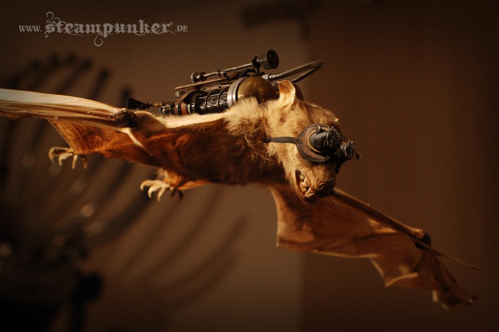 Steampunk bat by steamworker