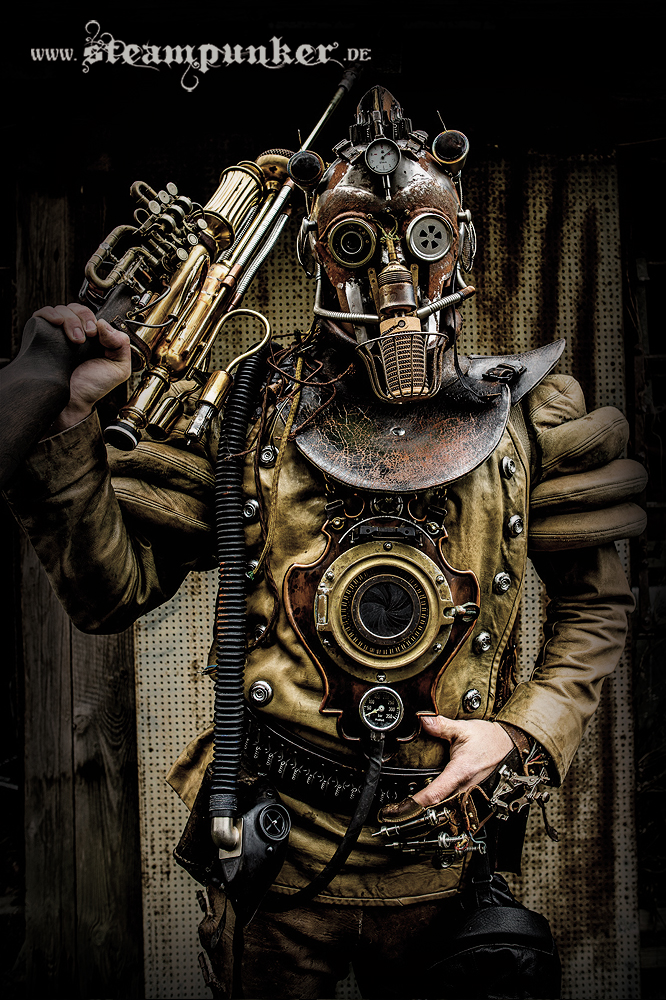 Steampunk Warrior by steamworker on deviantART