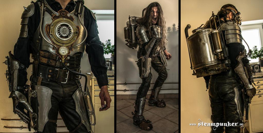steampunk warrior by steamworker on DeviantArt