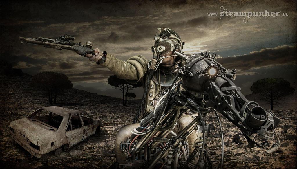 Steampunk Apokalypse by steamworker