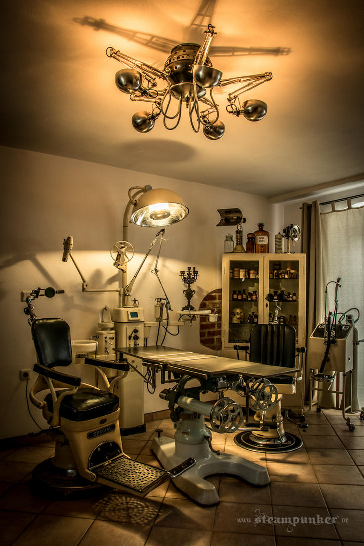 Steampunk room by steamworker