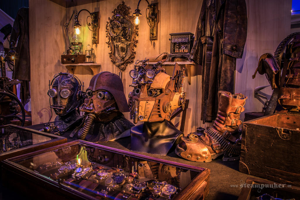 steampunk exhibition by steamworker