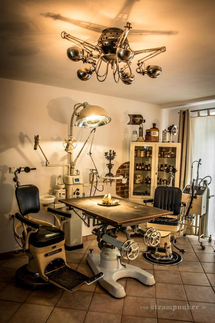 Steampunk room by steamworker