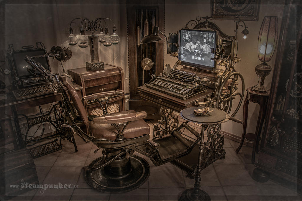 Steampunk Computer by steamworker