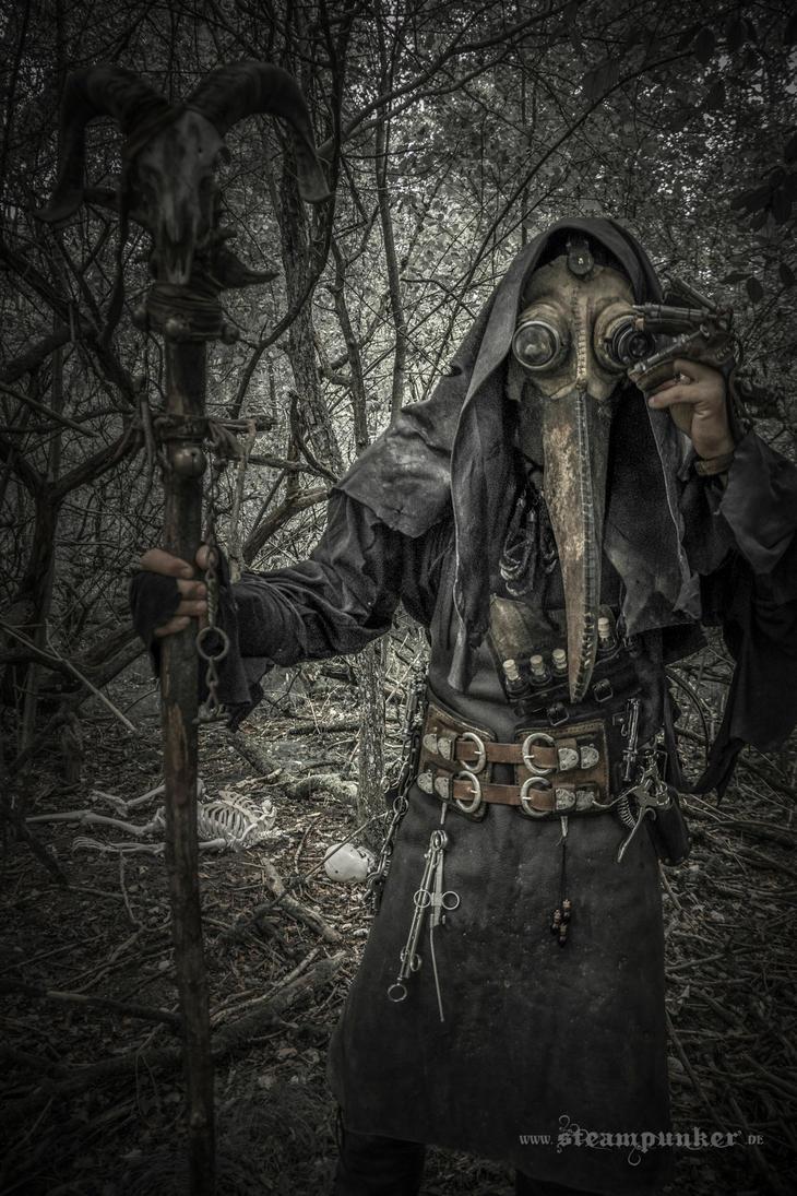 steampunk plague doctor by steamworker on deviantart