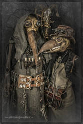 Steampunk Plague Doctors by steamworker