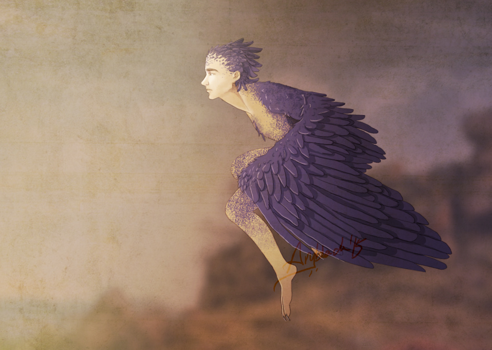 Longing Icarus by Aryblack