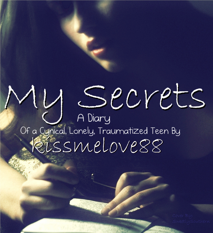 My Art Book Cover ~ My secrets book cover by sweetlysouthern