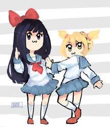 Pop Team Epic by sailorkarasu