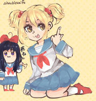 pop team epic by sailorkarasu