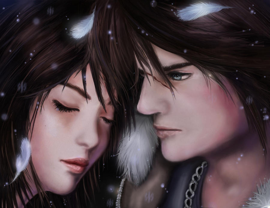 Squall And Rinoa Pictures Squall Rinoa by