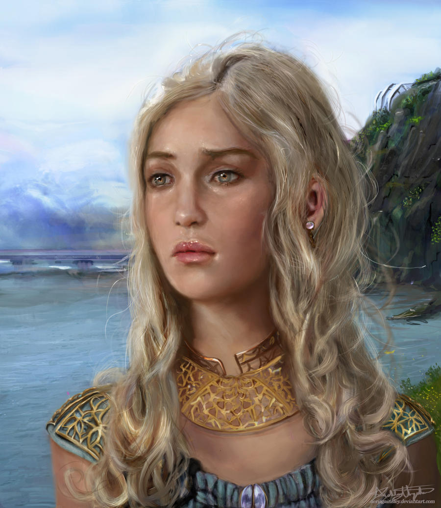 Daenerys Targaryen by AerisGainsley