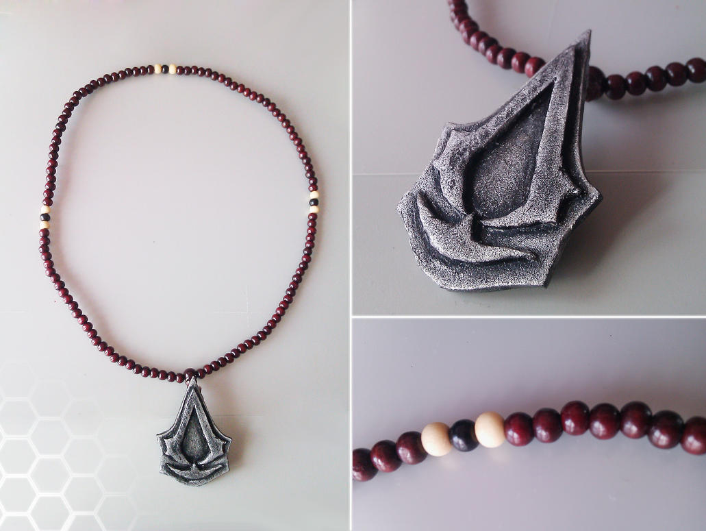 Assassin's Creed - Buddist pendant by Tha-Fire-Dude