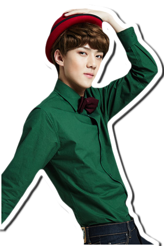 exok sehun miracle in december png by sooyounglover on