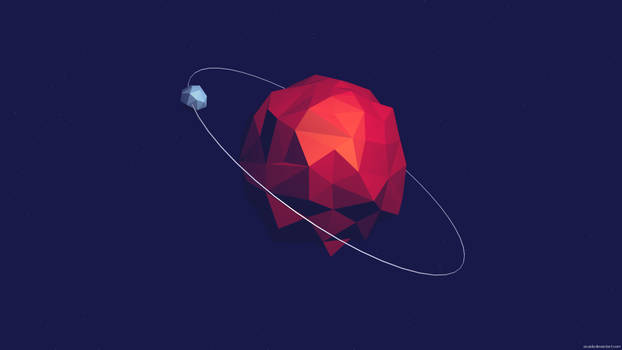 Low Poly Planet