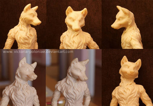 Anthro wolf again (face close-up photos)