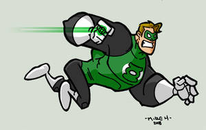 Hal Jordan : Green Lantern by tyrannus